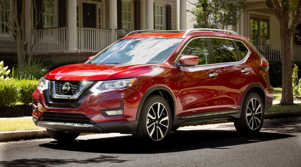 Nissan Rogue For In The Quad